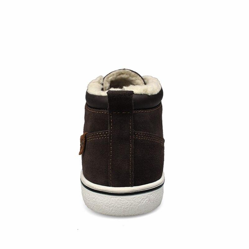 37 De Blue Chaussures brown En L'intérieur Cheville Fond Neige Mode Hommes Casual Peluche Antidérapant Chaud Aux3 Boot 46 Taille Bottes Botas À Hiver 1wnvBfqU