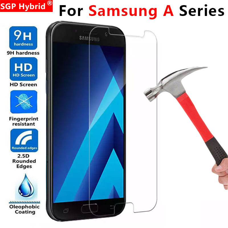 For Samsung A5 2017 Glass Protective A 5 A7 7 5a 2016 Screen Protector Tempered Glas On For Galaxy A3 3 7a A52017 A52016 Film