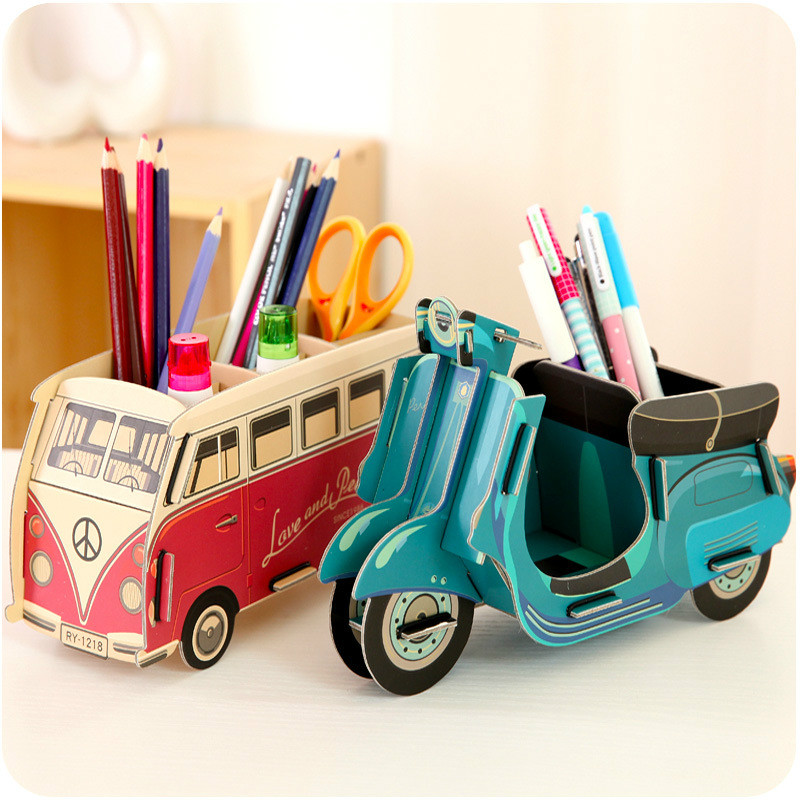 cheap office storage. 1pcs creative diy paper desktop storage box office stationery pencil case pen rack stand cheap