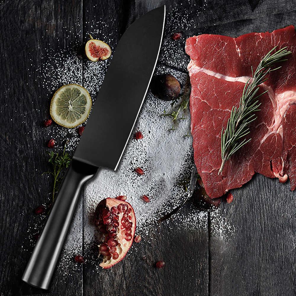 XYj Edelstahl Messer Set Küchenmesser Set Cleaver Messer Werkzeuge Chopper Nakiri Obst Gemüse Hacken Japanischen Messer Sets