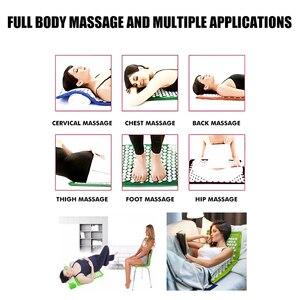 Image 4 - Massage Mat Acupressure Mat 67cm*42cm Yoga Lotus Spike Acupuncture Mat Relieve Back Body Pain Spike Acupuncture Yoga Mat