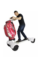 Electric Golf Carts 1000W/60V 10.5inch Inflatable Four 4 Wheel Electric Scooters Golf Carts Electrical Scooter Golf Trolley
