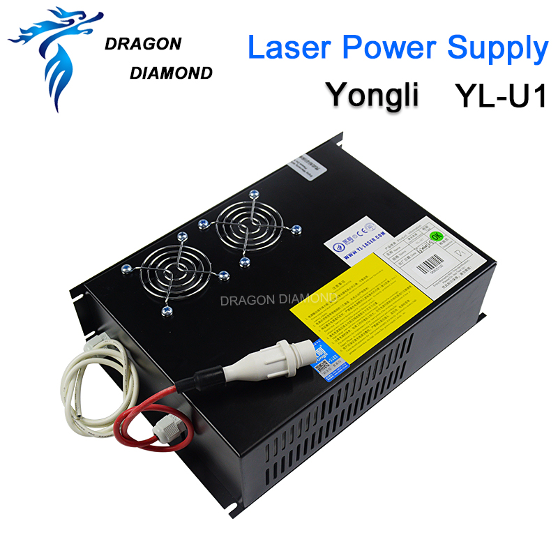 Original Yongli 80 100W CO2 Laser Power Supply For 80W 100W CO2 Laser Tube For CO2