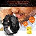 2g/3g rede Smartwatch Com Cartão Sim Bluetooth heart rate detectar conectividade música Controle Remoto smartPhone Android