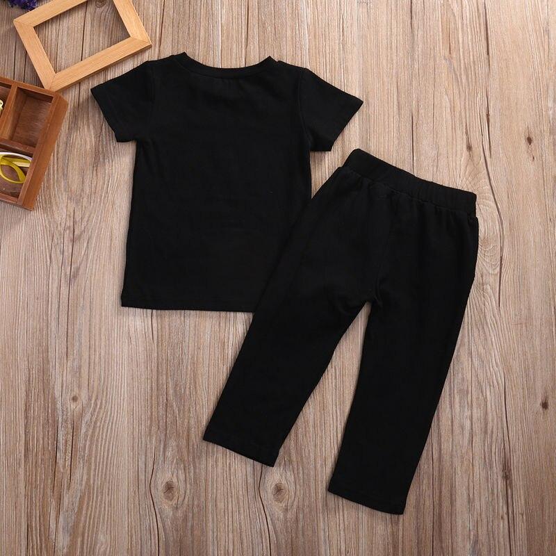 Toddler-Kids-Baby-Boy-Clothes-Set-Outfits-Clothes-No-pain-no-gain-T-shirt-Top-Short-Sleeve-Pants-2pcs-Boys-Clothing-Set-5