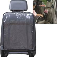 Car Care Seat Back Protector Case Cover Auto Accessaries Children Kids Baby Kick Mat Mud Clean Plastic Anti-kick Pad Auto(China)