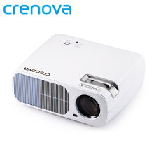 CRENOVA Stable Video Projector XPE600 For Full HD 1080P Home Theater Movie Projector With USB HDMI VGA AV Beamer Proyector