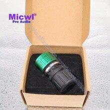 MICWL T47C Substituição cartucho Dinâmico microfone para Sistema de Microfone Sem Fio com fio