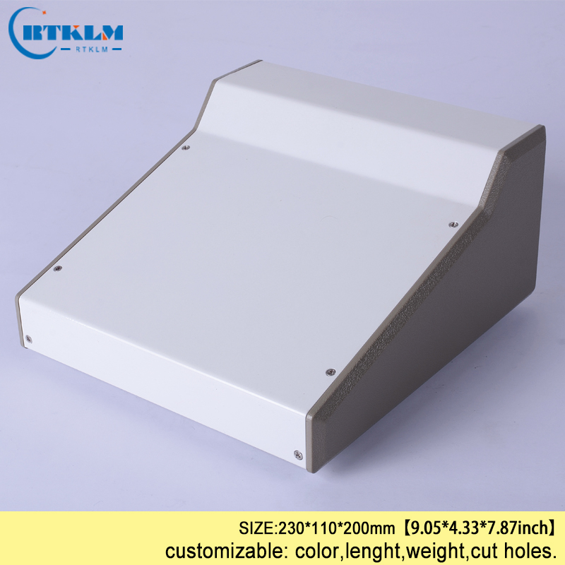 Iron electric box DIY distribution box Iron project case enclosure junction box electronic enclosure diy iron box 230*110*200mm szomk electronic project enclosure junction box 1 pcs 260 220 80mm plastic box enclosure desktop electric distribution box