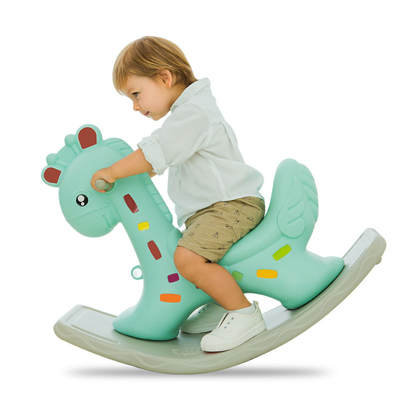 Baby Rocking Chair Baby Plastic Ride on Toys with Music Rocking Horse for Children Baby Swing Kids Bouncer Rocking Horse 0-3 Y children rocking horse gift baby eating chair music ride on toy cute duck birthday walker amphibious toys 2 kinds of functions