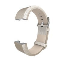 Gold Color Fitbit Charge 2 Replacement Band Leather Accessories Leather Bands Strap For Fitbit Charge 2