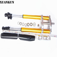 XUANKUN Off Road Motorcycle Modified Before The Shock Absorber Direction Of The Device Even Pull The Inverted Shock