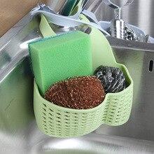 Раковина сумка для хранения на кухне посуда раковина подвесная корзина для мытья посуды подушки и кисти стеллаж для хранения прочный пластиковый сушилка