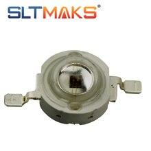 Sltmaks 10 шт./лот высокой мощности привело чип 650-660nm темно-красный 1 Вт 3 Вт 5 Вт излучатель света светодиодные лампы шарики для светать
