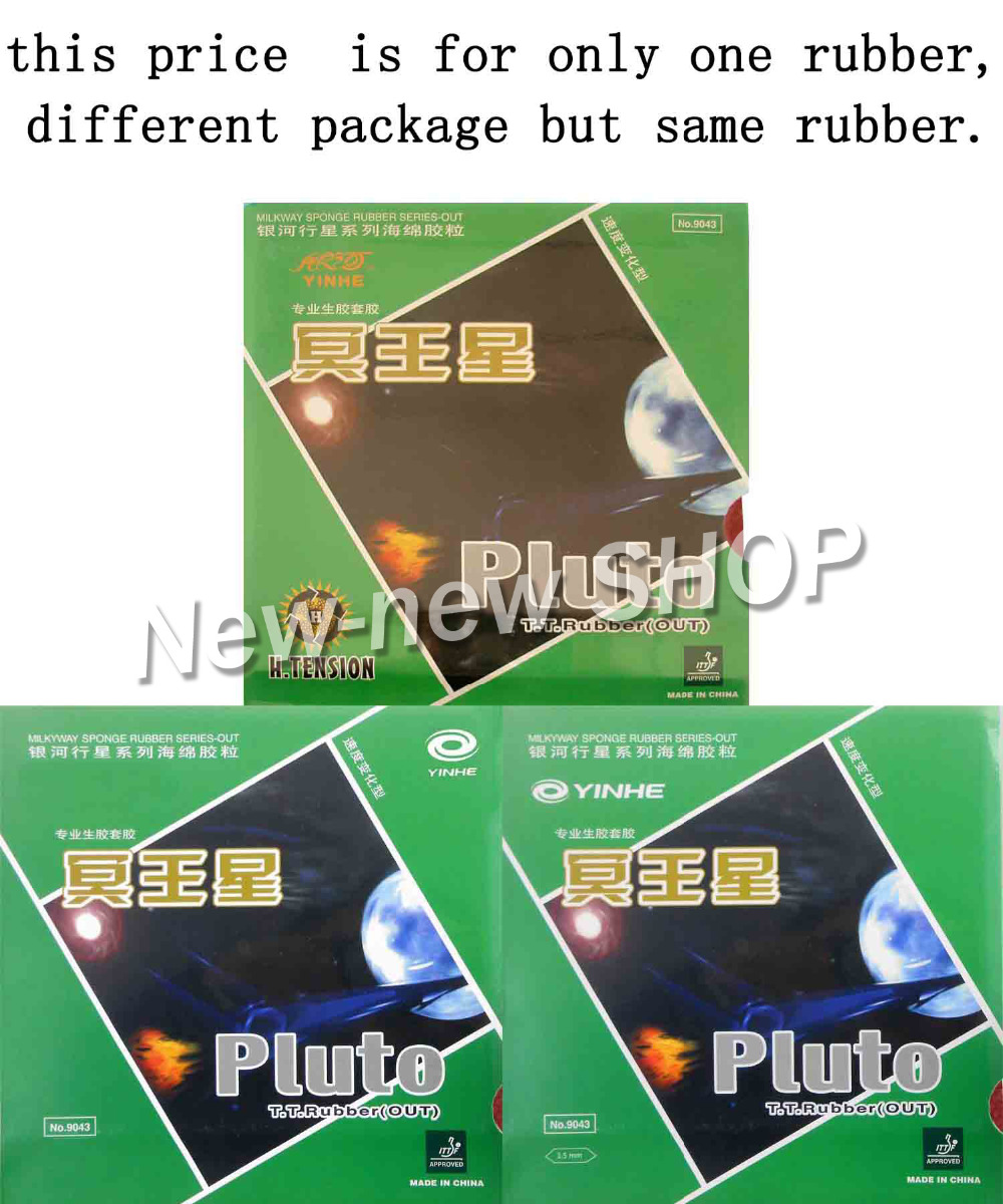 Galaxy Milky Way Yinhe Pluto Half Long Pips-Out Table Tennis PingPong Rubber with Sponge galaxy yinhe emery paper racket ep 150 sandpaper table tennis paddle long shakehand st