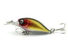 HENGJIA 8pcs 5cm 4.4g  diving crankbaits plastic fishing lures wobble pike carp peche fishing baits pesca fishing tackles