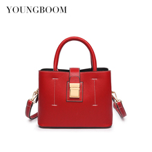2017 New Classic Panelled Messenger Bags Famous Designer Small Lady Pu Leather Handbags Women Shoulder Bags For Female Bolsas
