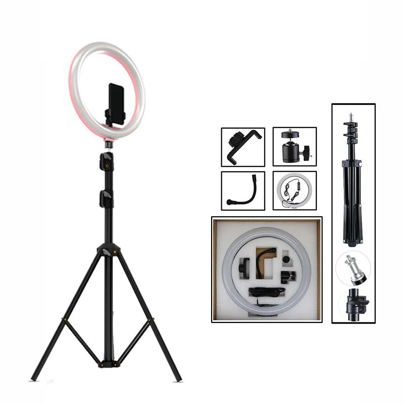 12 Dimmable Led Selfie Anneau Lumière Studio Photo Lumière Photographie En Ebay