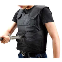 Portable Protective Vest with 15 Layers Kevlar Fiber Soft Liner High Strength Cut proof Coat Stab resistant Clothing Hot Sale