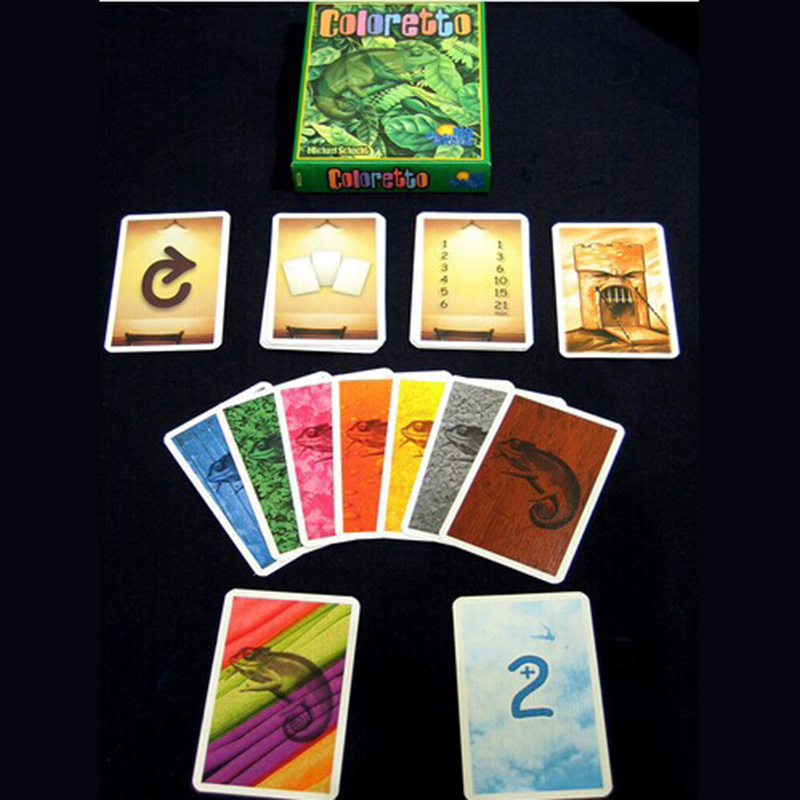 Coloretto Board Game   Players Funny Cards Games High Quality Game For Party Family With Free Shipping In Board Games From Sports Entertainment On
