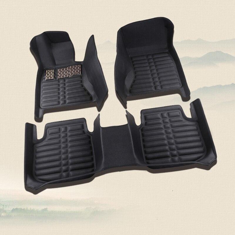 Tapis de sol auto accessoires tapis de pied pour mercedes benz E w212 w213 gl x164 x165 gla glc x205 b200 w245 w246 cla