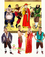 New The Journey to the West Mascot Costume Suits Cosplay Party Game Dress Outfits Clothing Christmas Easter Adults Monkey King