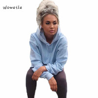 Woweile Super Deal Hot Selling Womens Loose Casual Long Sleeve Hoodie Sweatshirt Jumper Pullover Tops Shirt Coat
