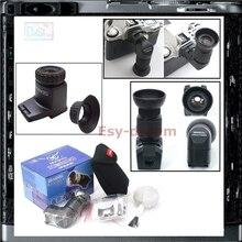 Mewa prawo celownik kątowy wizjer 1X 2X dla Canon 700D 5D Mark II III 6D 70D Nikon D600 D3300 D5500 D7100 Pentax K3 K5 K7