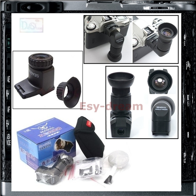 Seagull Right Angle Finder Viewfinder 1X 2X for Canon 700D 5D Mark II III 6D 70D Nikon D600 D3300 D5500 D7100 Pentax K3 K5 K7