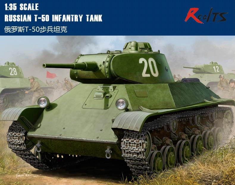 RealTS Hobby Boss 1/35 Russian T-50 Infantry Tank #83827 hobbyboss realts hobbyboss 81754 1 48 russian mig 31b bm foxhound hobby boss page 6