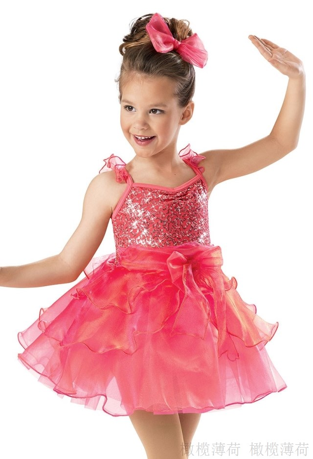 Novelty & Special Use Liberal 2018 New Rushed Gymnastics Leotard Performance Dance Costume Dress Children Party Sleeve Wear Short Professional Ballerina Tutu Stage & Dance Wear