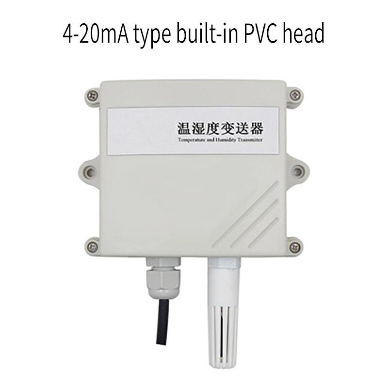 -Alta precisão de Temperatura e Umidade Transmissor 4-20mA Analógico Sensor de Temperatura e Umidade
