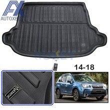 AX Fit-bandeja trasera para maletero de Subaru forestal SJ, revestimiento para maletero, estera protectora para suelo de carga, accesorios, 2013, 2018, 2014, 2015, 2016