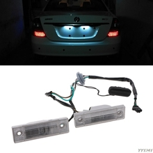 1 Pair Rear Back License Plate Light With Trunk Switch Button For Cruze Chevrolet Exterior Auto Lamp Car Light Wholesale car trunk button switch with wire for chevrolet cruze sedan 2009 2014 1
