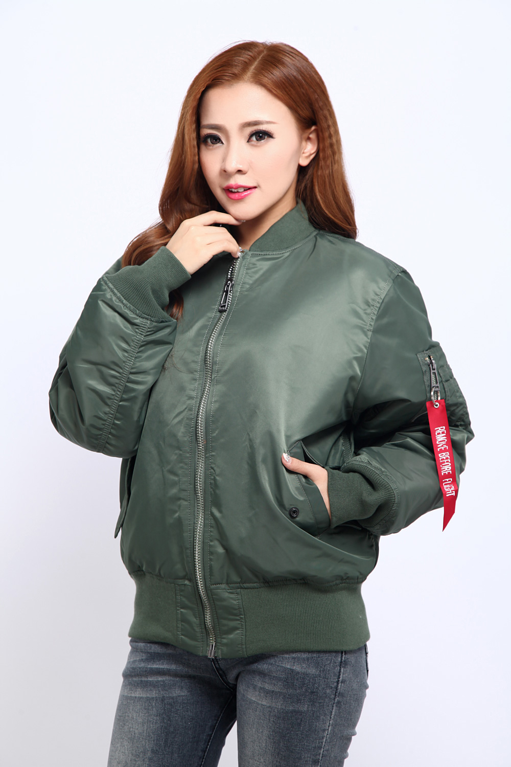 Aliexpress.com : Buy New Seibertron women MA1 Jacket Black ...