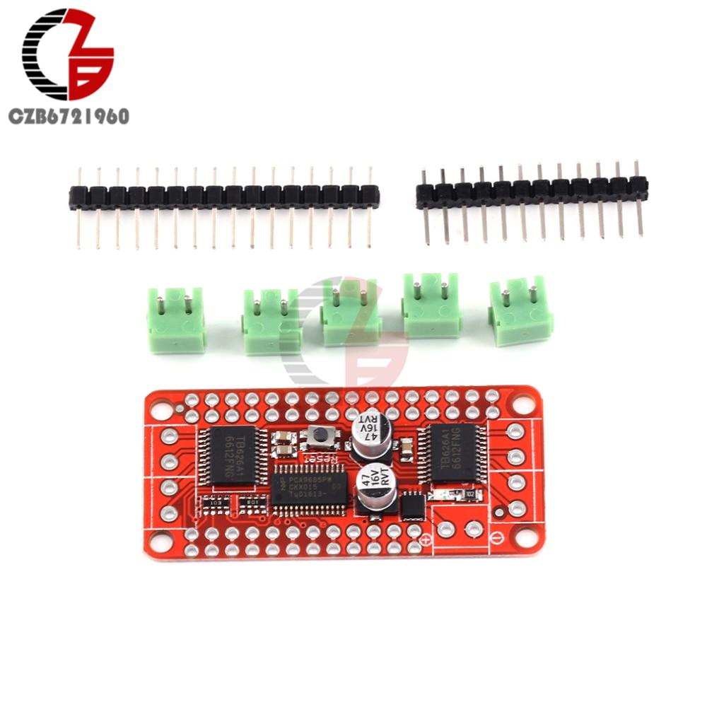 Pca9685 Tb6612 Stepper Motor Speed Controller Module Dual Dc Driver Circuit For Board Regulator Control Drive