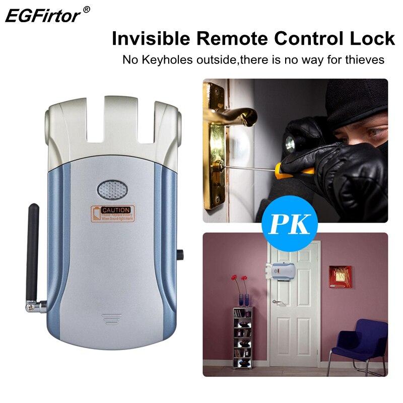 Inteligente Sem Fio Invisível Eletrônico Keyless Fechadura Da Porta de Controle de Acesso Porta Bloqueio Bloqueio Inteligente Para Home Security Anti-ladrão