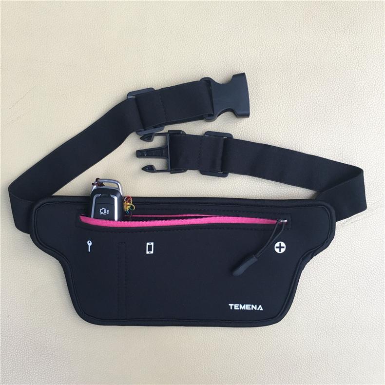 TEMENA Men Women Running Waist Belt Bag Phone Holder Jogging Belly Fanny Packs Gym Fitness Bags Sport Running Accessories 9
