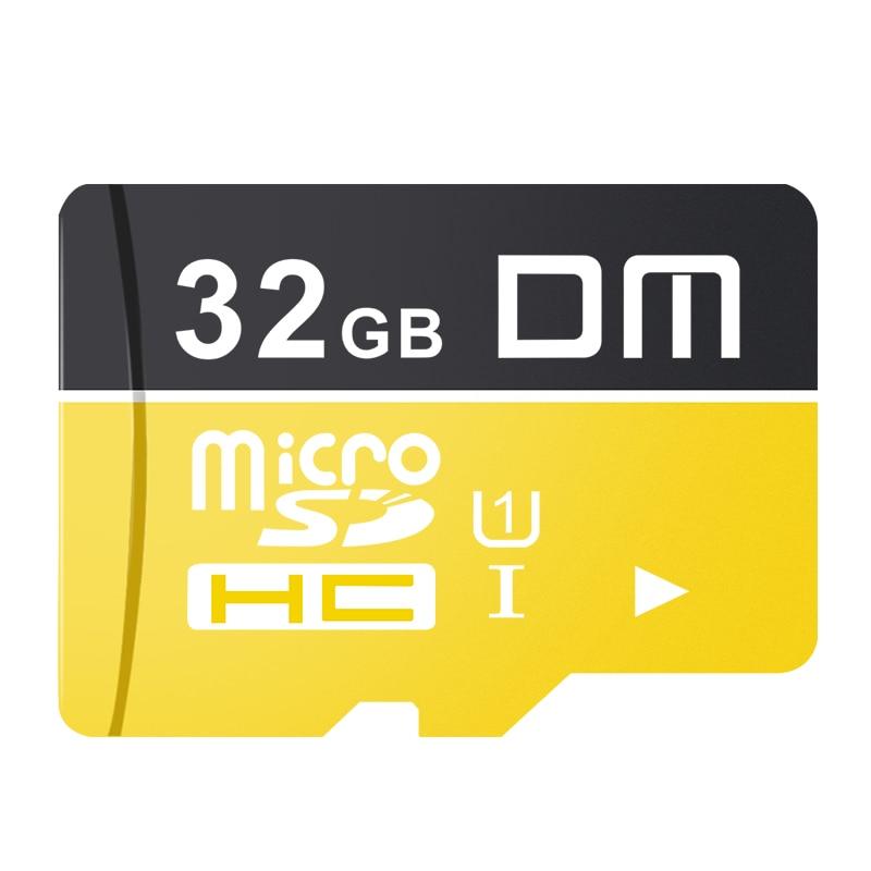 Карта памяти DM MCSD010-C10 Micro SD класс 10 TF карта 16 ГБ 32 ГБ 64 Гб 128 ГБ