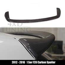 for BMW F20 Carbon Spoiler AC Style F20 Carbon Fiber Rear Spoiler Trunk Wing 116i 118i 125i 2012 2013 2014 2015 2016