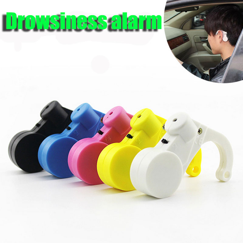 Car Driver Alarm Sound Alert Anti Sleep Drowsy Alarm for Drivers Security Guards Sleepy Reminder