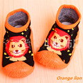 2 Pairs/Lot Baby Toddler Shoes Soft Bottom Baby Socks With Rubber Soles Baby Socks Newborn  Ws9171