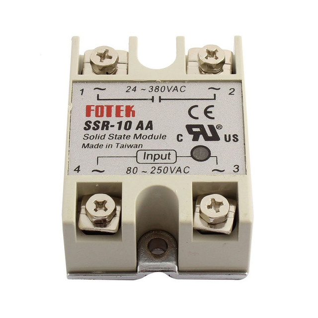 1pcs Free shipping solid state relay SSR 10AA 10A actually 80 250V