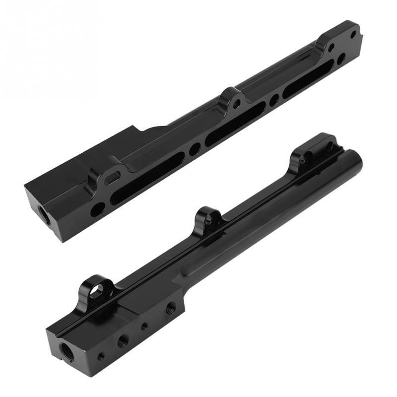 1Pcs Aluminum Alloy Black Car Fuel Rail D Series for Honda Civic CR X D15B7 D15B8 D16A6 D16Z6 High Volume