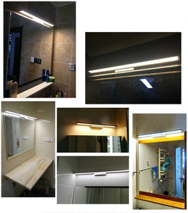 Image 5 - 11W LED Wall light Bathroom Mirror Light Waterproof Modern Acrylic Wall Lamp Bathroom Lighting AC85 265V