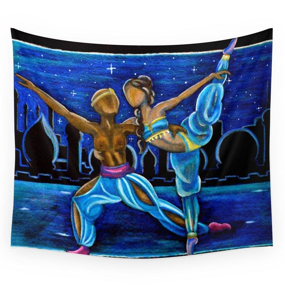 Beach Blanket Cha Cha Dance: High Quality Arabian Dance Wall Tapestry Cover Beach Towel