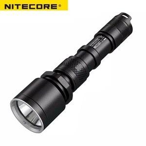 Image 2 - NITECORE MH25GT su geçirmez 1000LM taktik CREE XP L HI V3 LED ışık lamba el feneri torch + 18650 pil + kılıf + USB kablosu