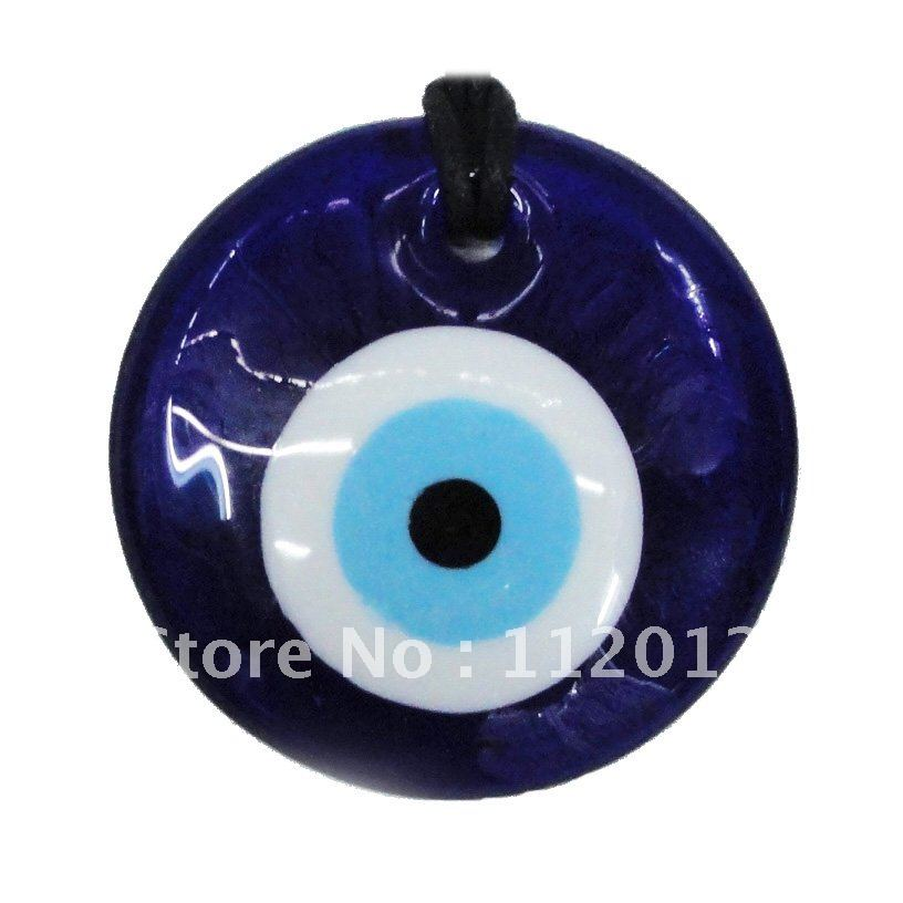 Lot Of 60 2 Quot Round Blue Glass Turkish Evil Eye Home