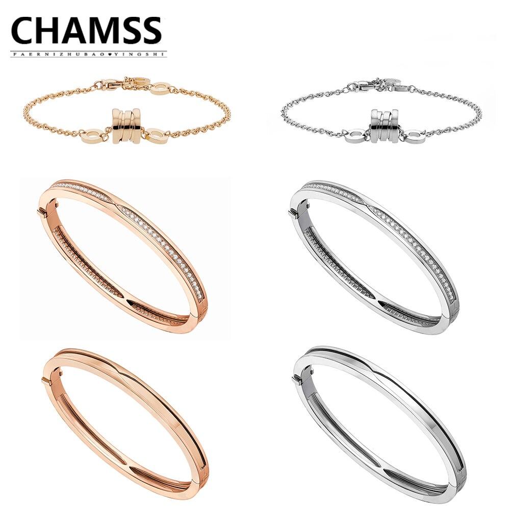 CHAMS bulgaria FOR WOMEN IN bracelet saves children ceramics diamond rose gold white gold spring bracelet bracelet birthday gift