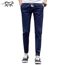 2016 neue Marke Kleidung männer Sommer Feste Hosen für Männer Lässige Herren Hose Elastische Dünne Fit Sweatpants Homber Lange hosen